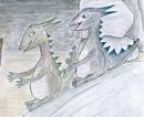 Drakarna Pixi och Paxi